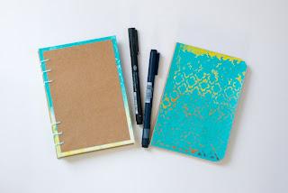 Tapas de Cuadernos con monoimpresión