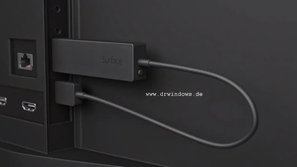 Microsoft Surface-branded Miracast dongle