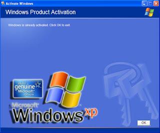 Genuine Windows XP 2012 License Keys With WGA crack