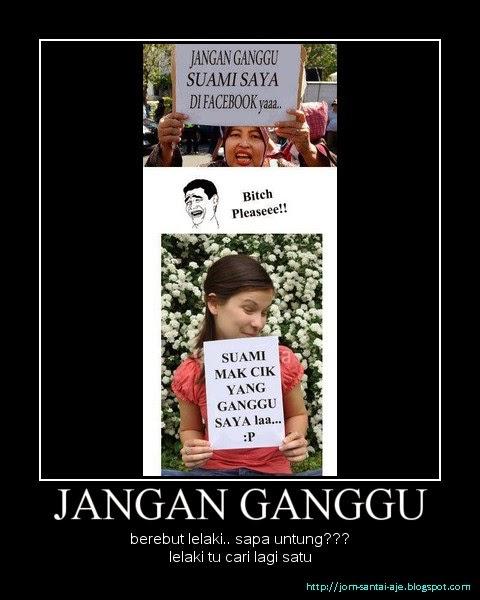 JANGAN GANGGU