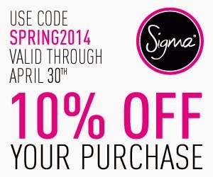 Sigma Discount Coupon
