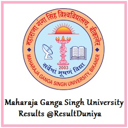 MGSU MSc M.Com First Previous Final Year Result 2015