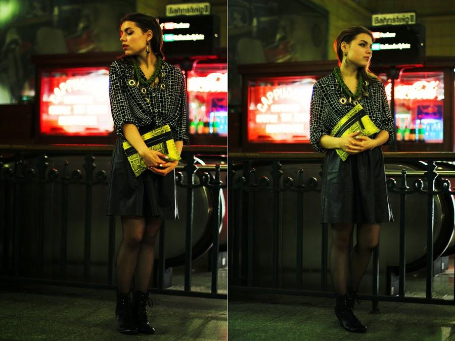 ootd  fashion blogger shooting berlin