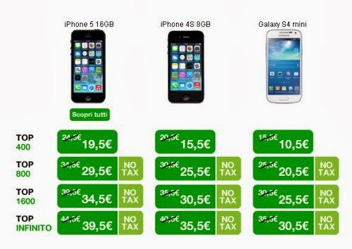 Se portate un vecchio telefonino a 3 Italia e aderite a 3supervaluta otterrete uno sconto di 150 euro sulle tariffe TOP