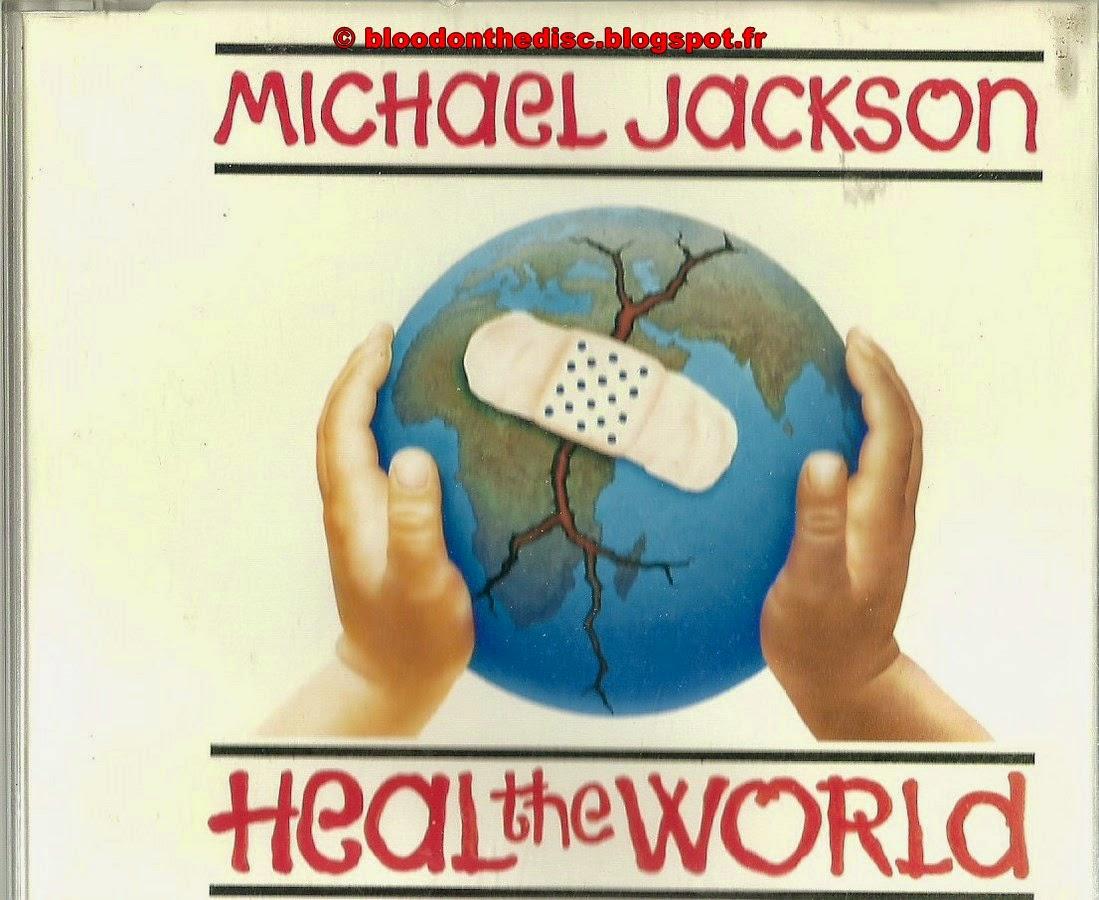 Heal The World Picture Maxi CD Pochette