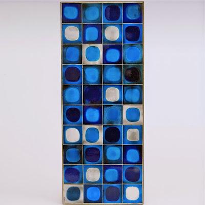 Rogar Capron blue coffee table