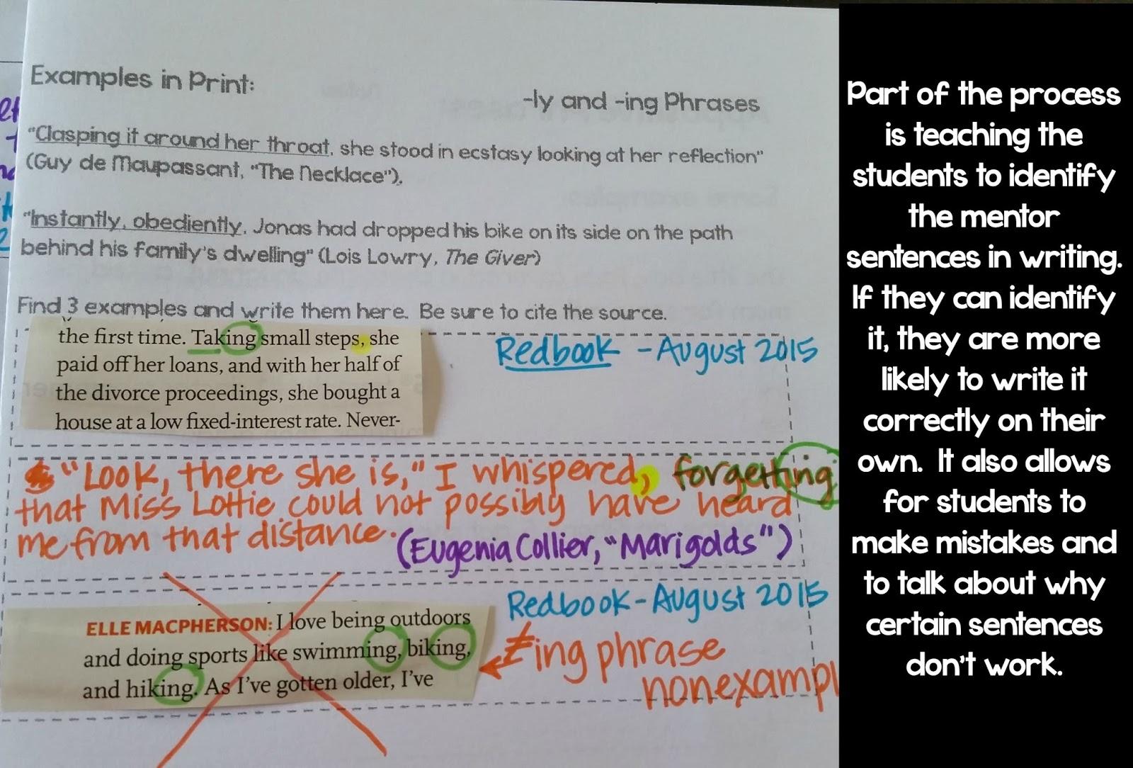 Fun Paragraph Lesson Plan