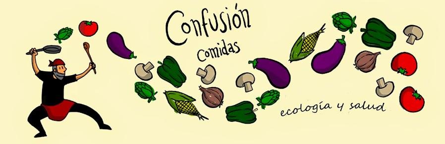 CONFUSIÓN COMIDAS