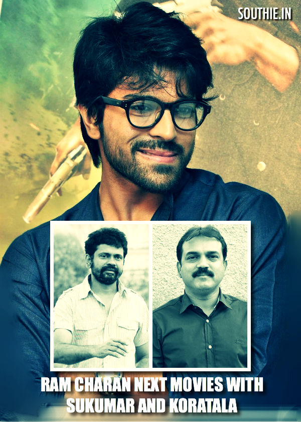 Sukumar and Koratala Siva for RC 11 and RC 12 in pipeline? Ram Charan might probably sigh movies with these two directors after their successful movies. Ram Charan is at last making some good decisions on signing up of the directors. Ram Charan, Sukumar, Kortala Siva, RC 11, RC 12, Next movies in pipeline
