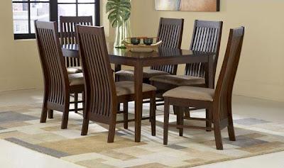 Meja Makan minimalis Jati dengan 6 Dudukan  finishing Salak Brown  furniture yang desain simple   fungsionable.  Meja yang kami sediakan variabel dari yang jenis ukiran, bahan kayu jati maupun mahoni , gaya klasik / minimalis dll.   dapatkan kemudahan berbelanja di toko online kami Kasby Furniture.