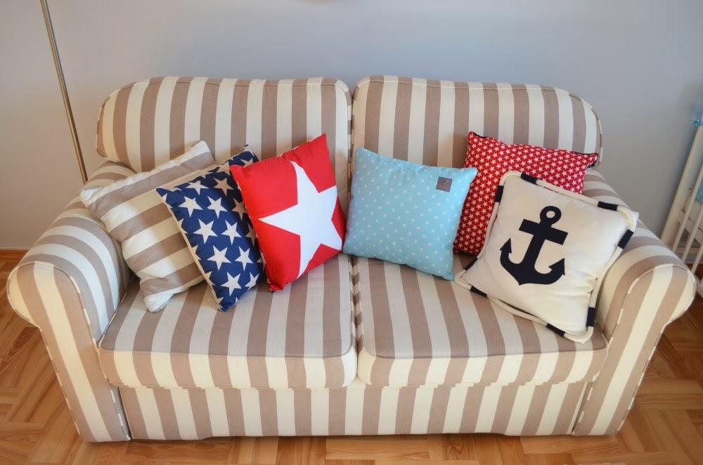 pokój marynarski styl marine