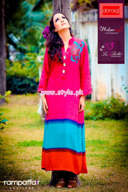 Abraaj Winter 2013-2014 Women Clothes Collection By Fashion She9