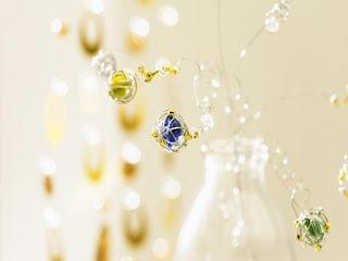 flores originales en jarron de cristal