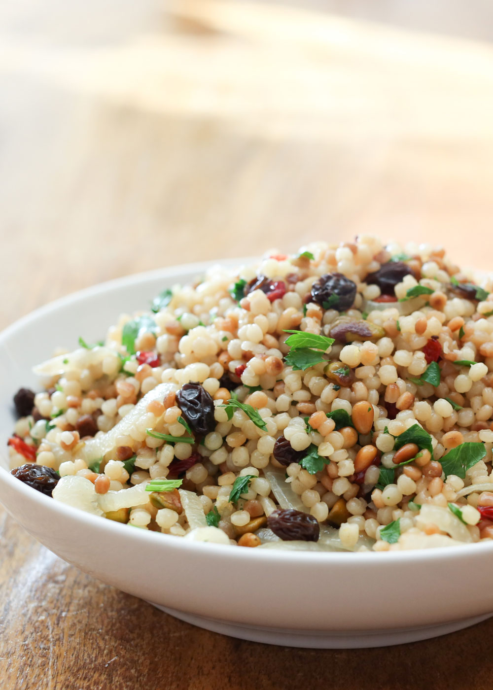 how to cook israeli couscous on the stove
