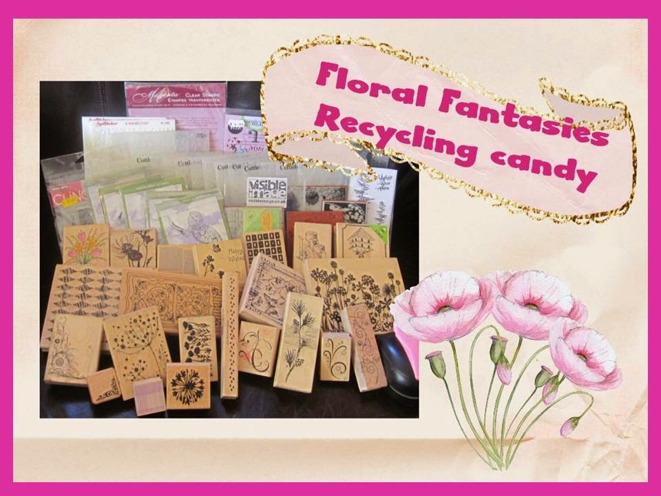 Floral Fantasies Recycling Candy