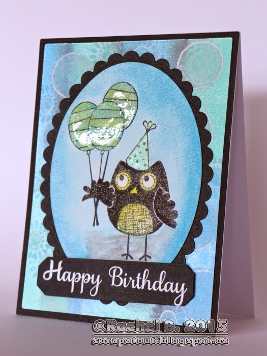 Card Birthday Faber-Castell Gelatos