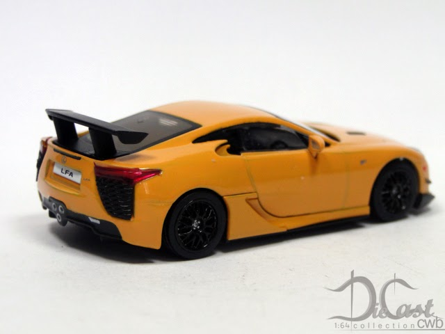 diecast cwb 1 64 collection lexus lfa nurburgring package. Black Bedroom Furniture Sets. Home Design Ideas