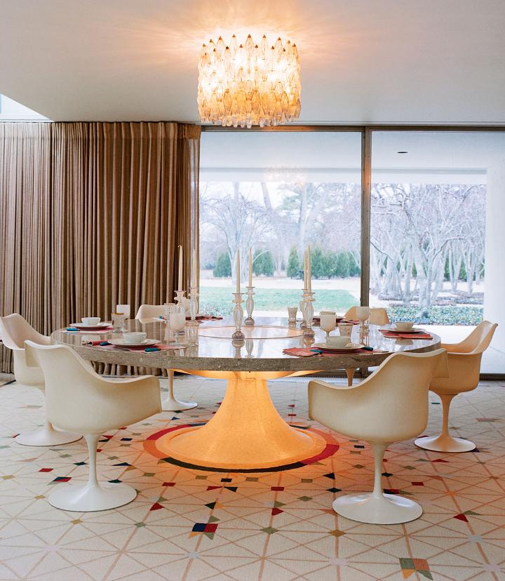 Interior Design | Miller House: Columbus