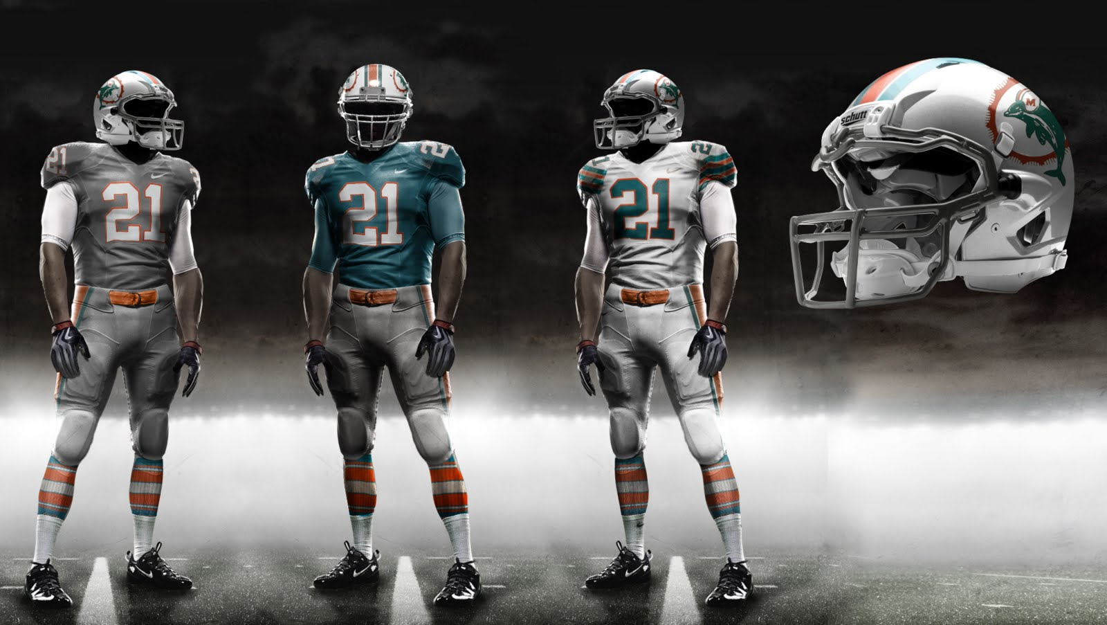 Miami Dolphins to reveal new logo and uniforms on April 18 1dfb27488