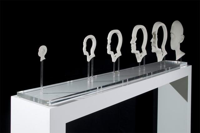 Doctor Ojiplático. Jonty Hurwitz. Esculturas anamorficas