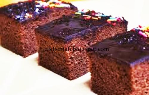 Resepi masakan Kek Coklat Kukus