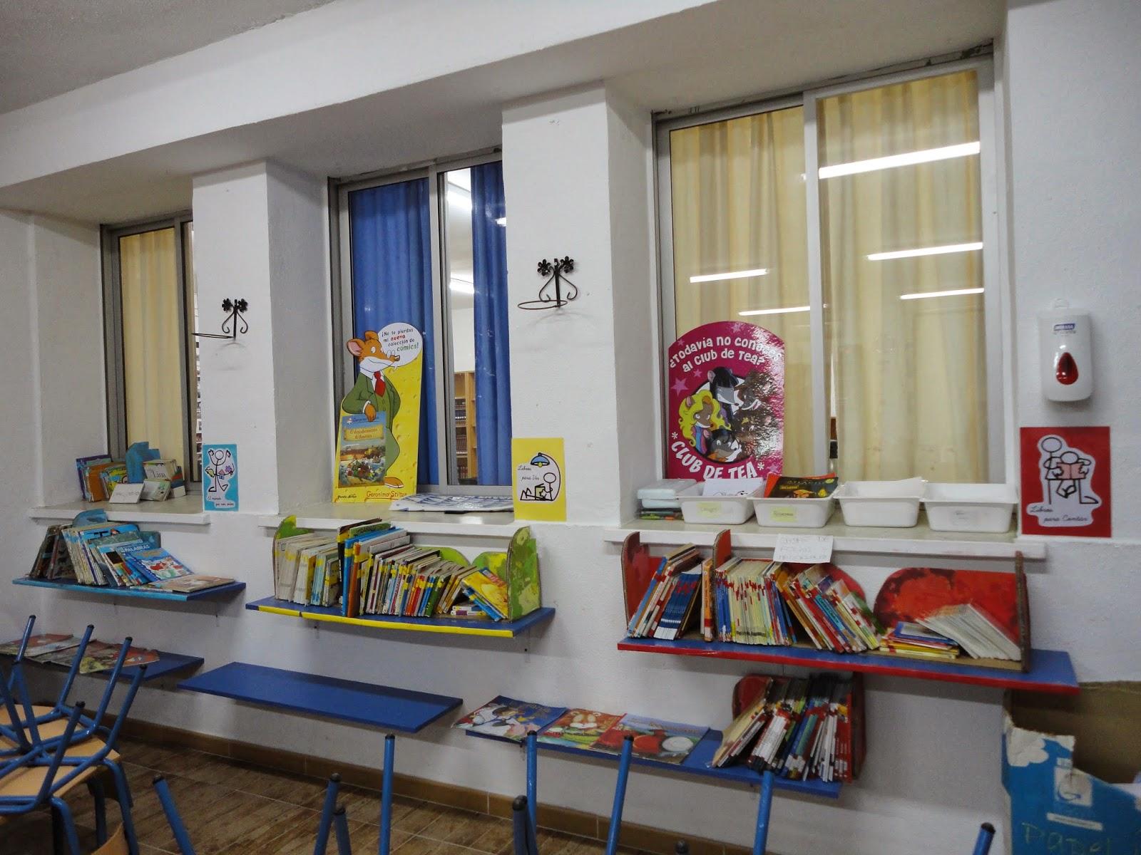 Biblioteca escuelas verdes - Estanteria biblioteca infantil ...