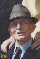Oud-strijder Louis Pacolet 1893-1997 gevierd als honderdjarige