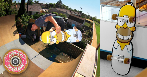 The Homer Cruzer Skateboard