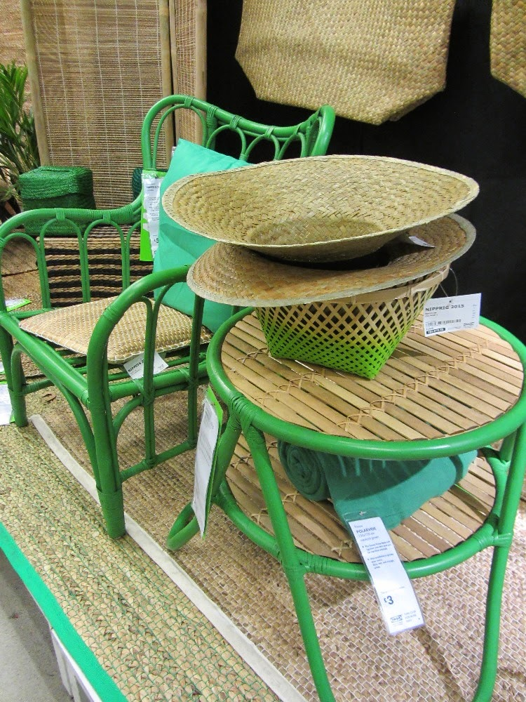 Living with ankan outdoor furniture from ikea for Outdoor side tables ikea