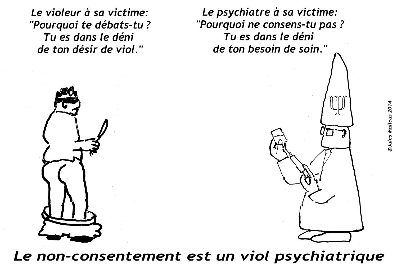 Le viol psychiatrique