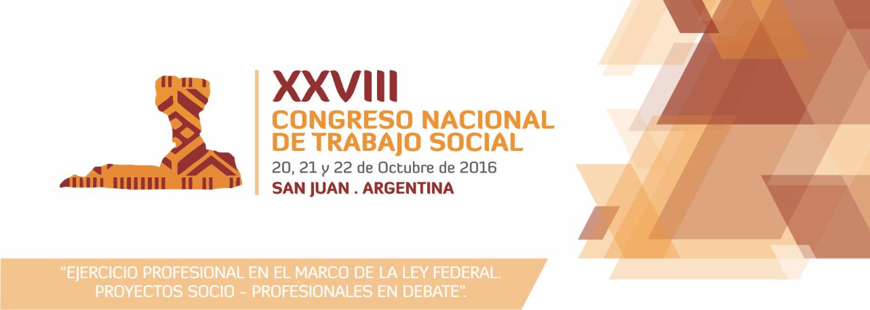 XXVIII Congreso Nacional de Trabajo Social