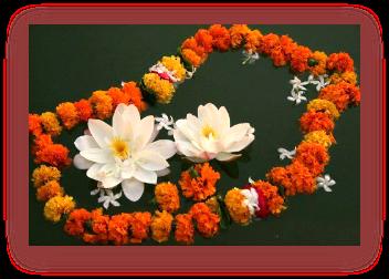 Imagem de colar de flores