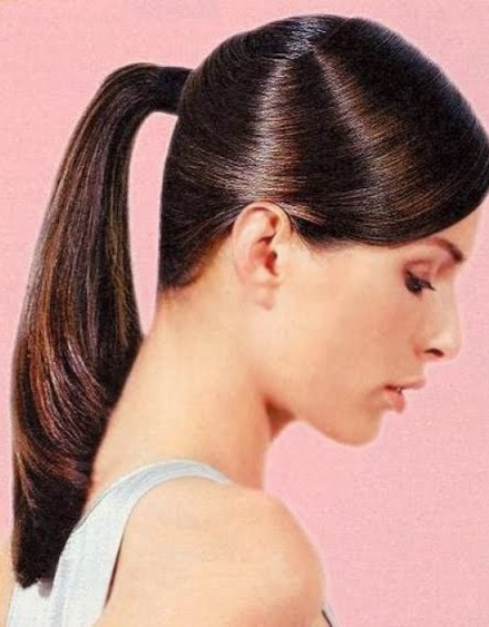 hairstyles girls ponytail