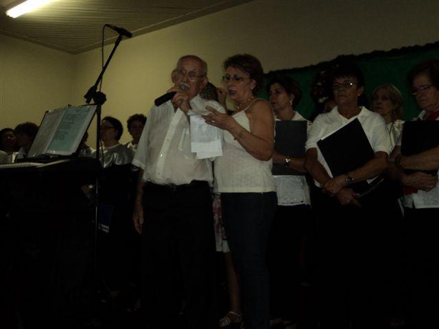 JOSÉ FERRITE DECLAMANDO NA CANTATA DE NATAL
