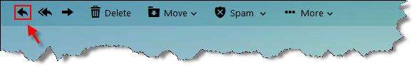 cara membalas pesan email yahoo