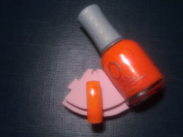 swatch colore smalto melt your popsicle - orly fluo feel the vibe