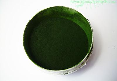 Maseczka z alg spirulina