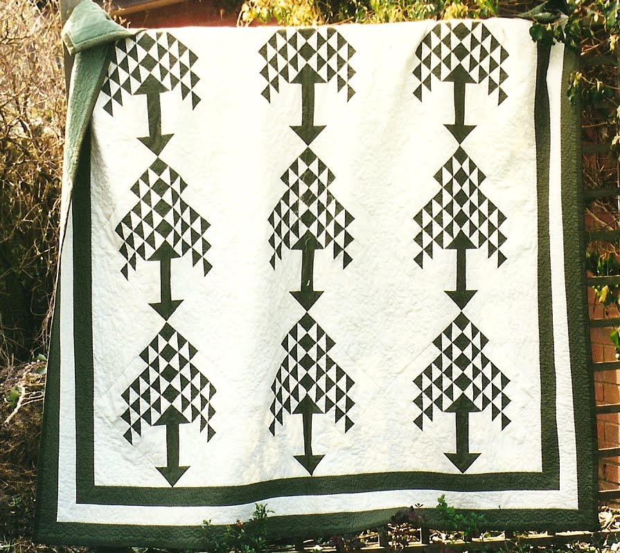 Welsh Quilts: Pippa Moss Quilts 3 : pine tree quilts - Adamdwight.com
