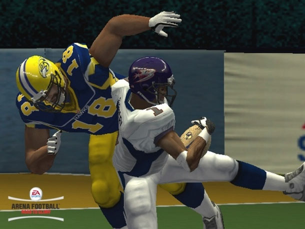 PS2 EA Sports Arena Football Cheats