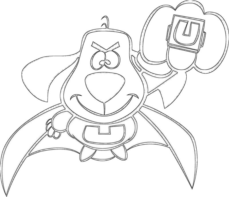 underdog coloring pages printable - photo#12