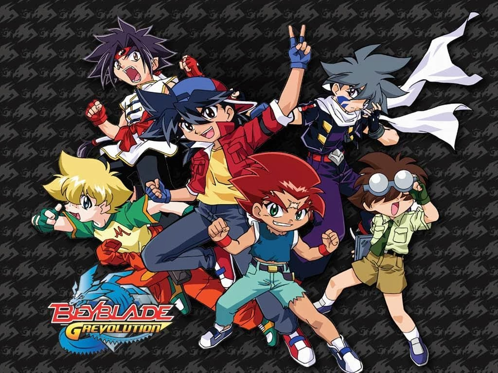 Beyblade G Revolution Famous Anime Naruto Shippuden And Others