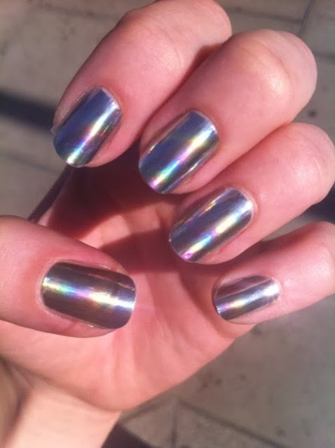 Wear you Would Holographic nail polish? photo