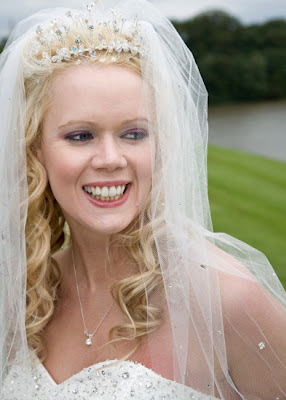Brides natural smile