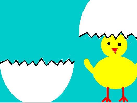 Wielkanocny kurczaczek