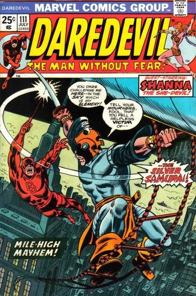 Daredevil #111, Silver Samurai