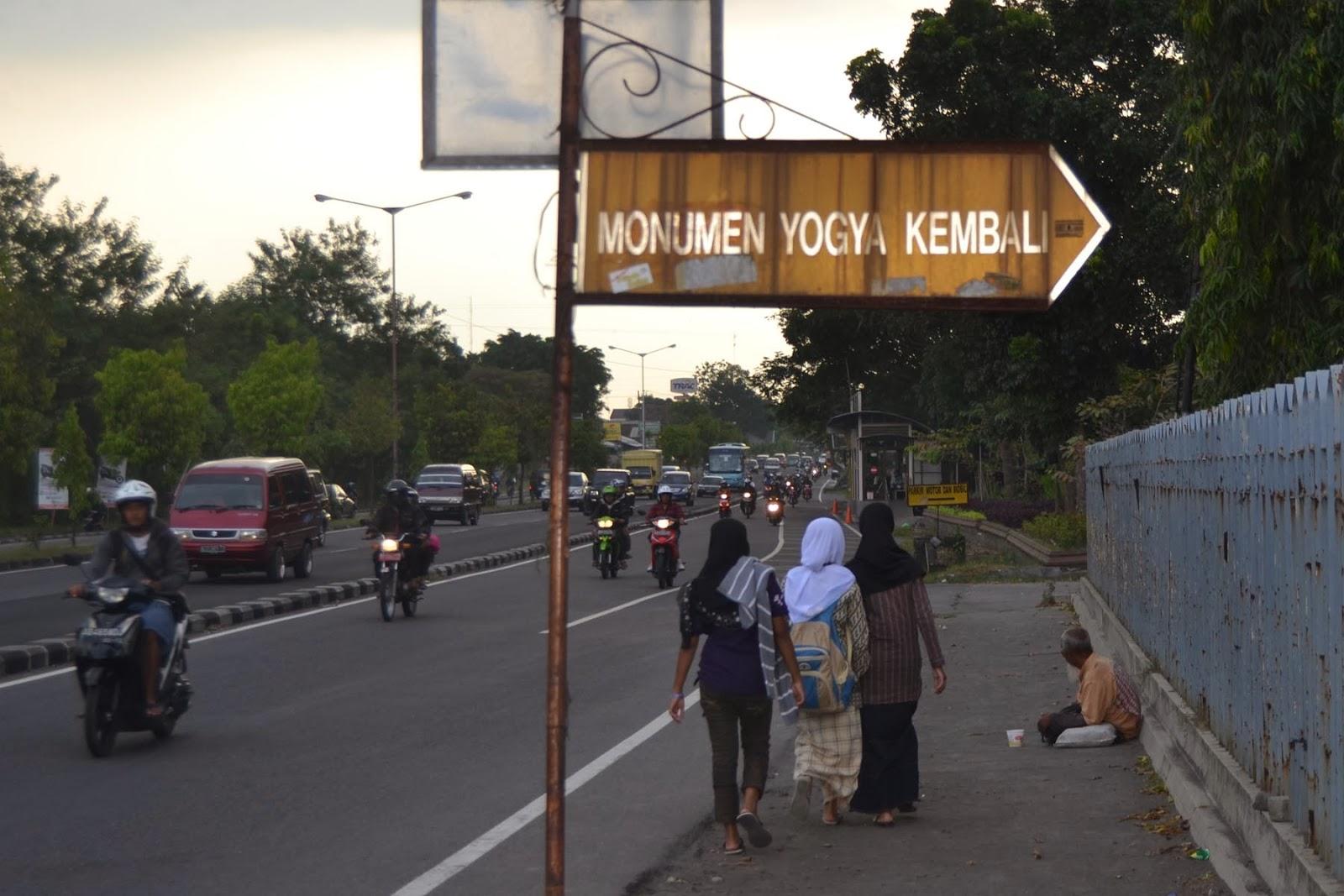 Mengenang Monumen Jogja Kembali - WONG KAMPUNG