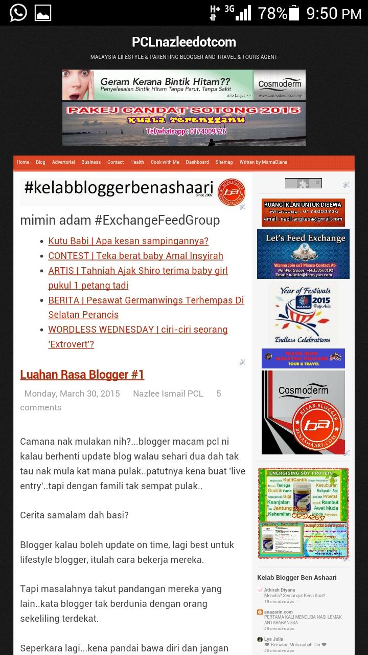 Blog Mesra Mobile