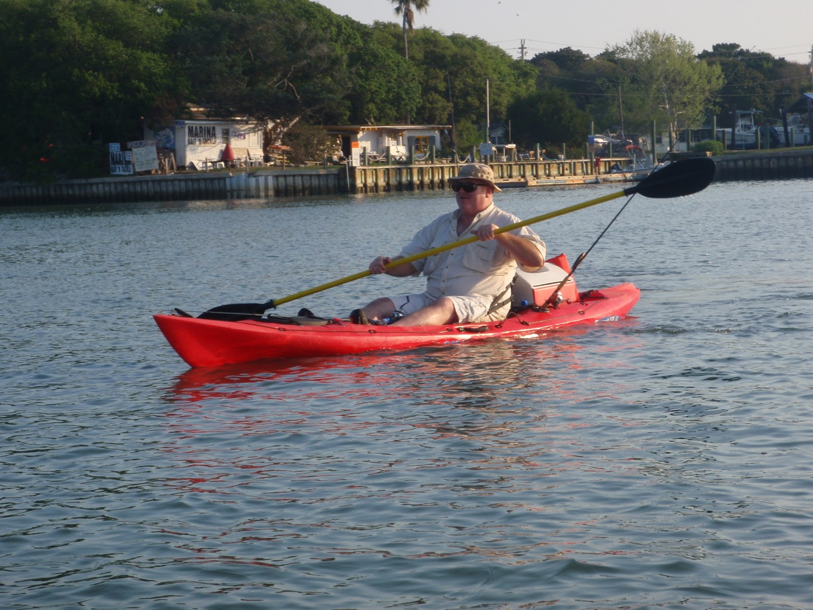 Jeff 39 s tackle box bill did not die but i think he felt for Fishing kayak for big guys