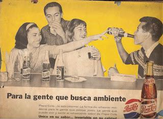 publicidad antigua pepsicola