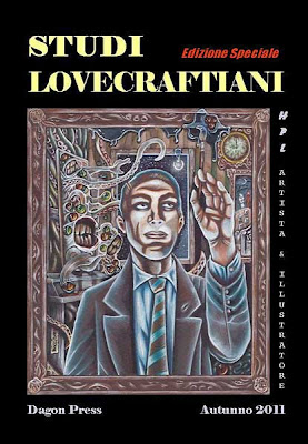 Studi Lovecraftiani: L'arte grafica di H.P. Lovecraft, copertina